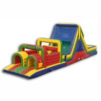 52' Dry Inflatable Obstacle Course