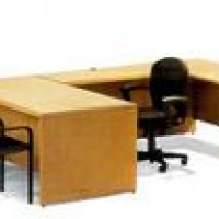 Maple Series U Desk