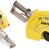 Blastrac Hs-100 Sawtec 12-14IN Air Cut-off Saw