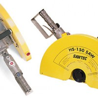 Blastrac Hs-150 Sawtec 12-18IN Air Cut-off Saw