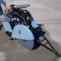 Target Pro 65 65 Hp Walk-behind Concrete Saw