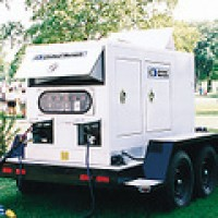United Rentals Movie Generator Diesel Crystal Sync Generator