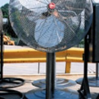 United Rentals Pedestal Fan