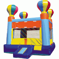 Balloon Theme Hopper Bounce House