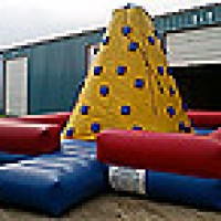 Inflatable Rock Wall Climb