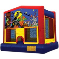 Halloween Themed Bounce House