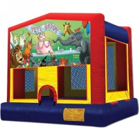 Happy Birthday Circus Bounce House