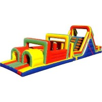 52' Inflatable Obstacle Course