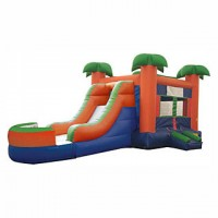 Paradise Bounce Slide Co