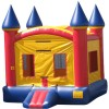 Red and Blue Castle Moonbounce