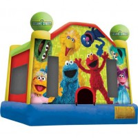 Sesame Street Bounce Castle
