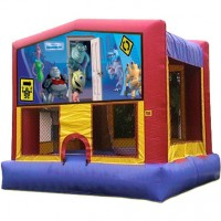 Monsters Inc Bouncy Castle