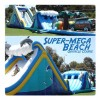 Super Mega Beach Theme Obstacle Course